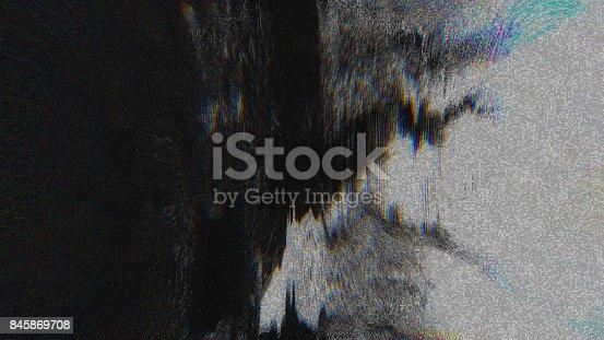 845869662istockphoto Unique Design Abstract Digital Pixel Noise Glitch Error Video Damage 845869708