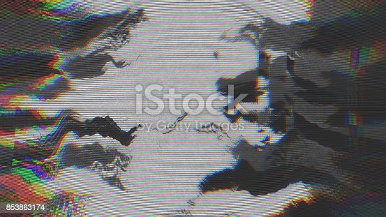845869662istockphoto Unique Design Abstract Digital Pixel Noise Glitch Error Video Damage 853863174
