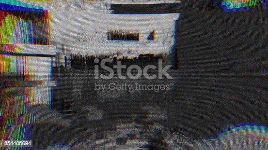 845869662istockphoto Unique Design Abstract Digital Pixel Noise Glitch Error Video Damage 854405694