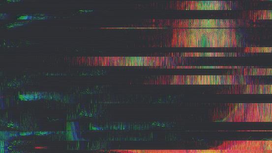 Benzersiz Tasarım Soyut Dijital Pixel Gürültü Glitch Hata Video Hasar Stok Fotoğraflar & Arka planlar'nin Daha Fazla Resimleri