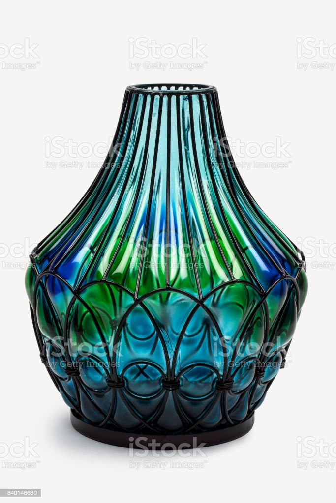 Decorative Unique Glass Flower Vasescontemporary In Clear And Opaque A Whole Color Spectrum Stock Photo Download Image Now Istock