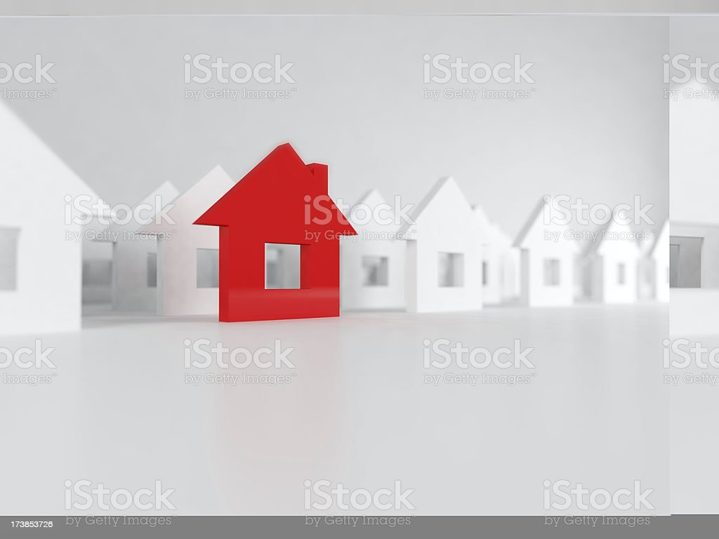 unique house royalty-free stock photo
