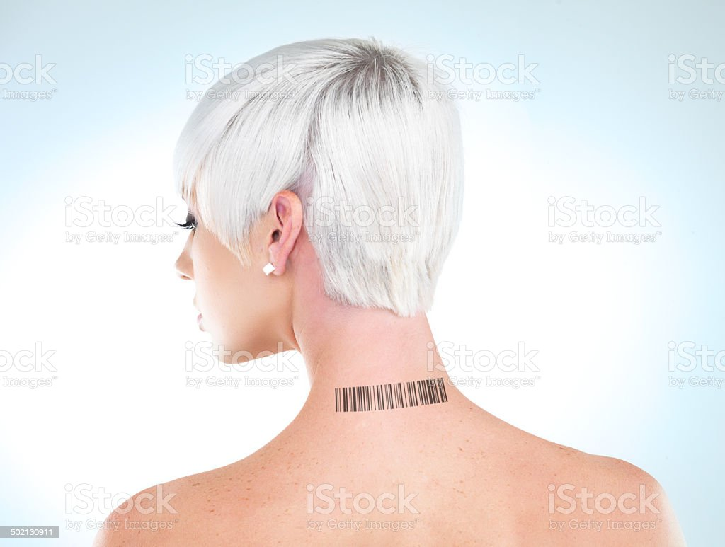 Unique, just like everyone else royalty-free stock photo