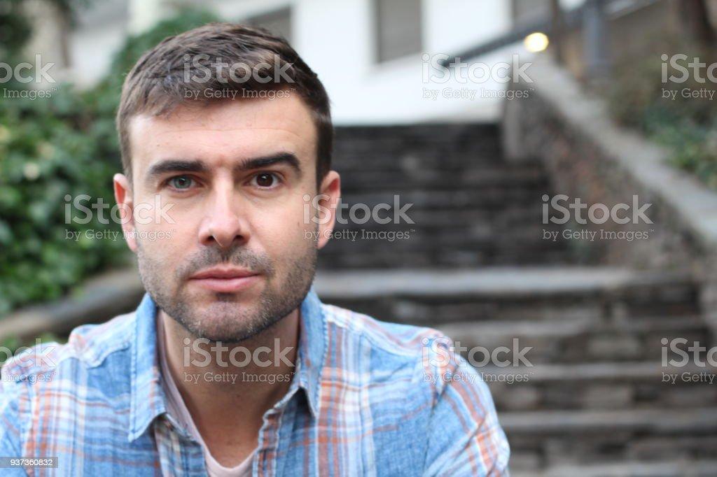Einzigartige Menschen mit Heterochromie – Foto