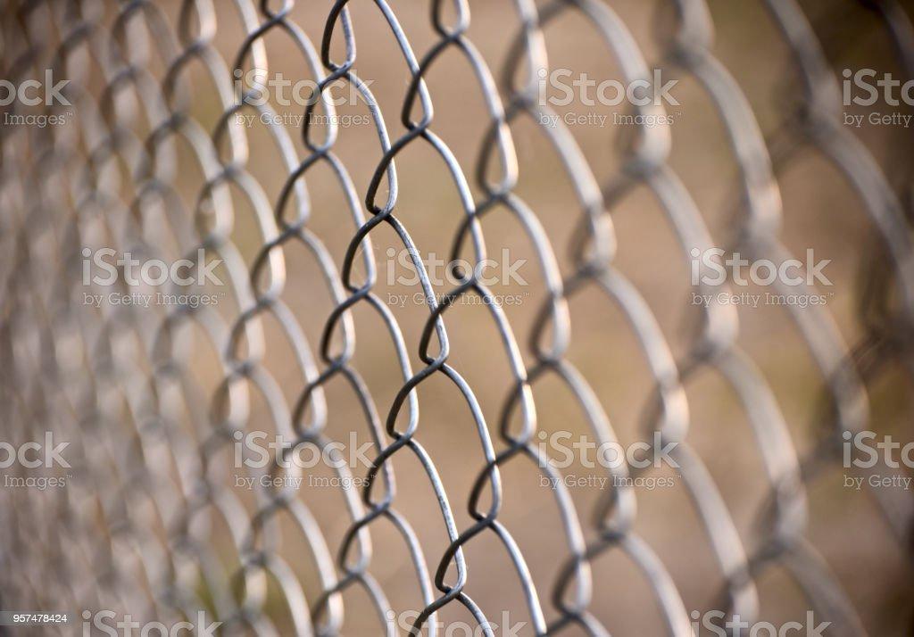 Unique metallic grill object unique blurry photo stock photo