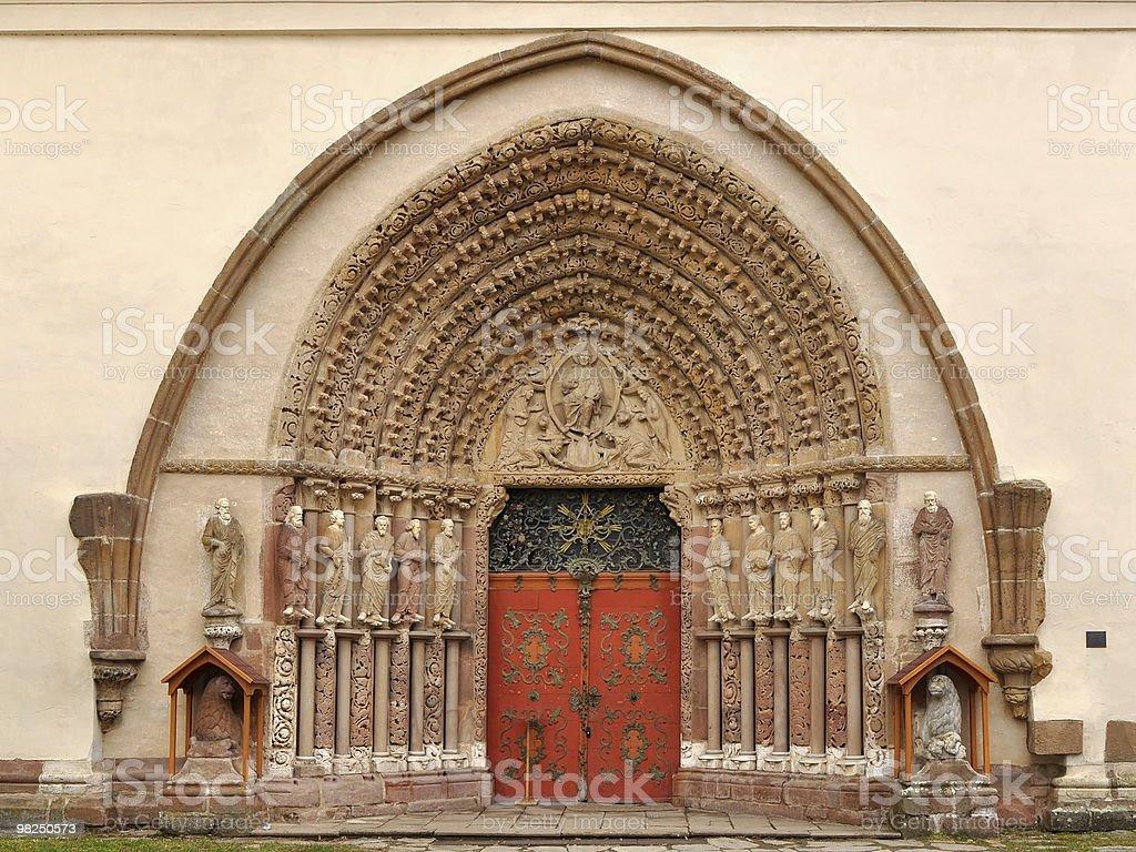 unique portal Porta coeli royalty-free stock photo