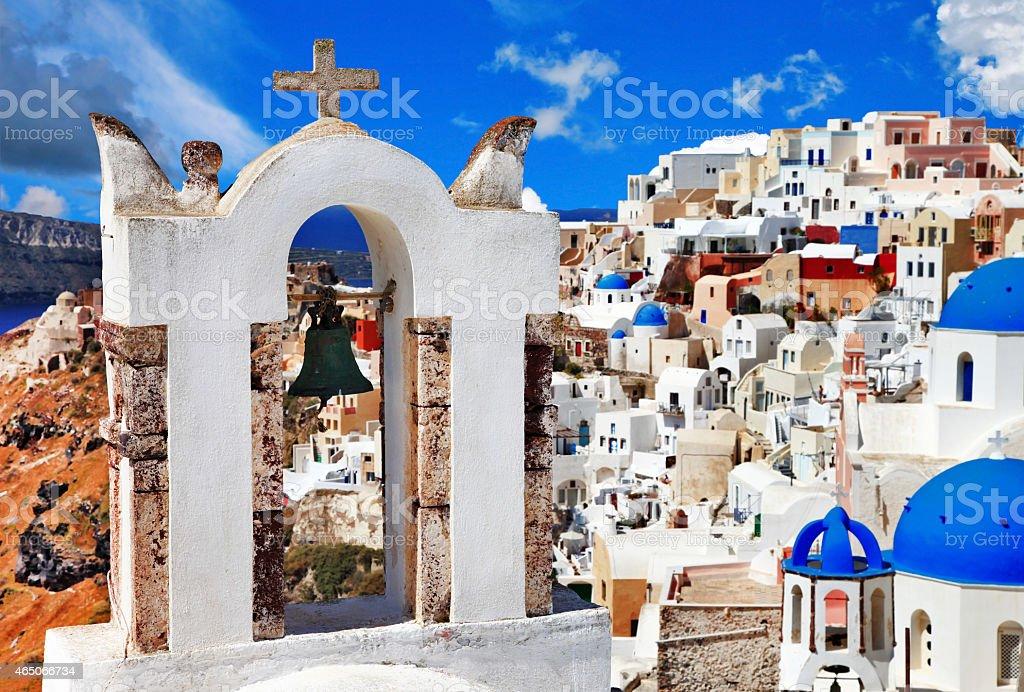 Unique Santorini stock photo