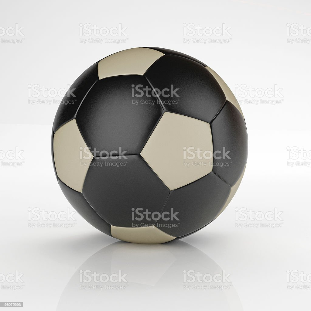 unique soccer ball royalty-free stock photo