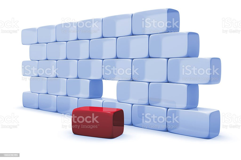 unique solution royalty-free stock photo
