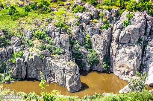 istock Unique steppe canyon 1182201420