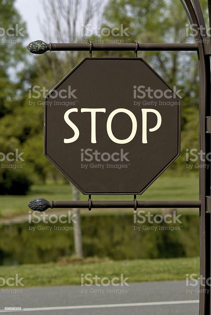 Уникальные Знак Стоп Стоковые фото Стоковая фотография