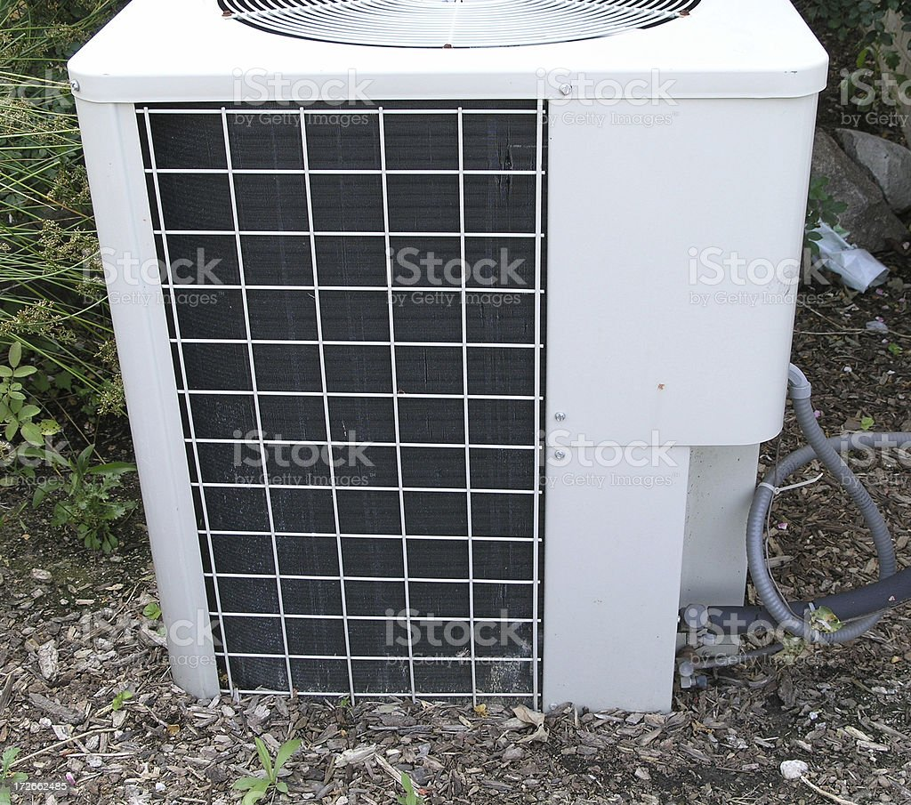 A/C unit royalty-free stock photo