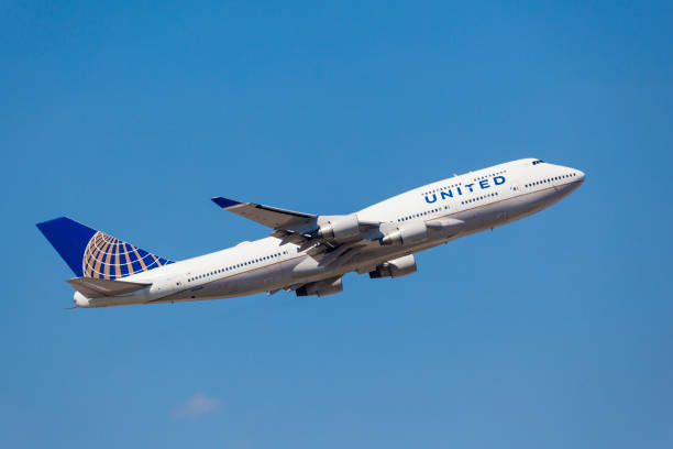 United Airlines Boeing 747 – Foto