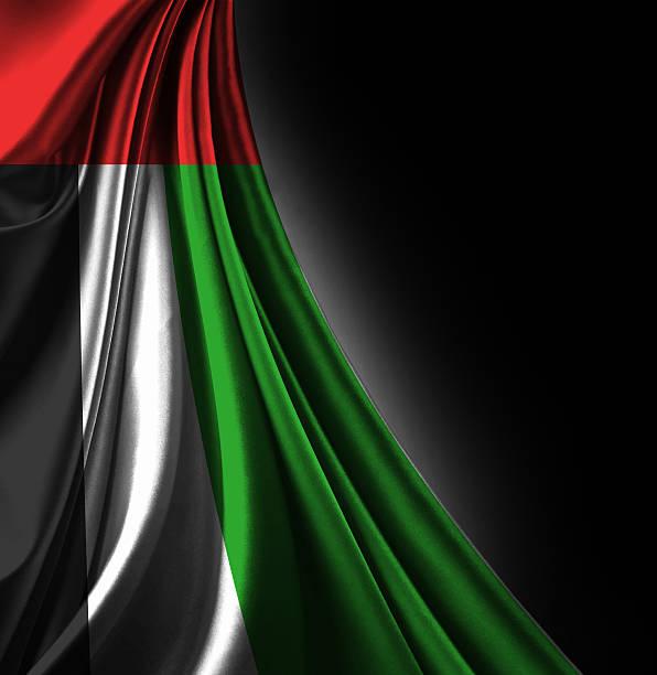 объединенные арабские эмираты флаг - uae flag стоковые фото и изображения