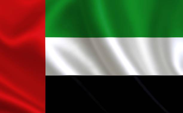 """united arab emirates flag,  a series of """"flags of the world."""" ( the country - united arab emirates flag ) - uae flag стоковые фото и изображения"""