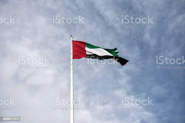 Flaga Zjednoczonych Emiratów Arabskich - zdjęcia stockowe i więcej obrazów 2015