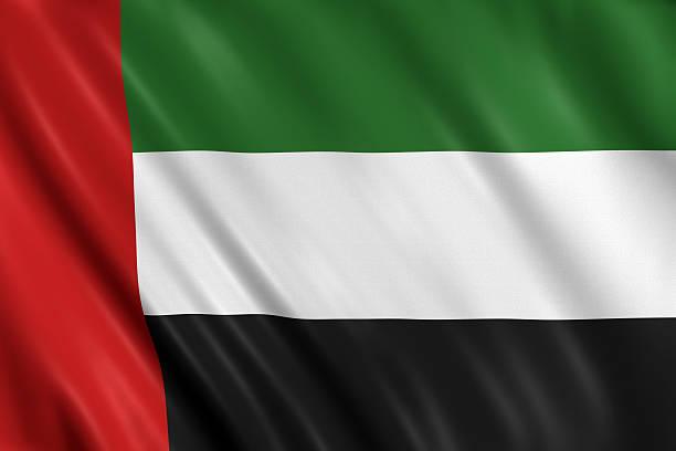 флаг объединённых арабских эмиратов - uae flag стоковые фото и изображения