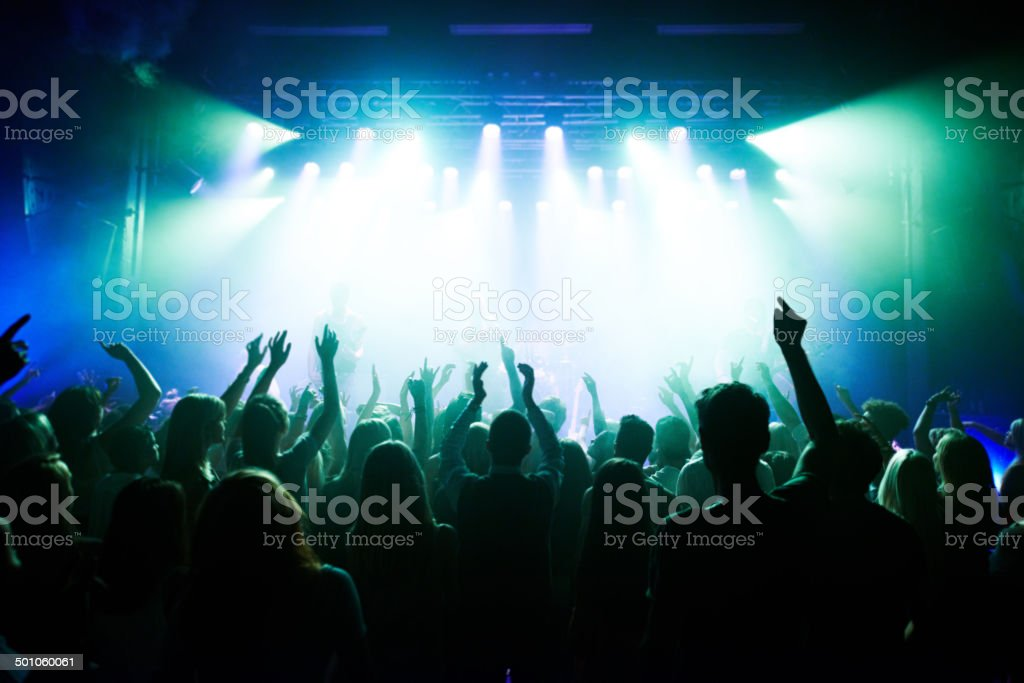 United by music stock photo