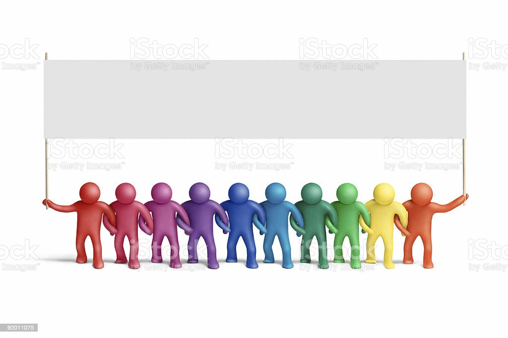 United colors stock photo