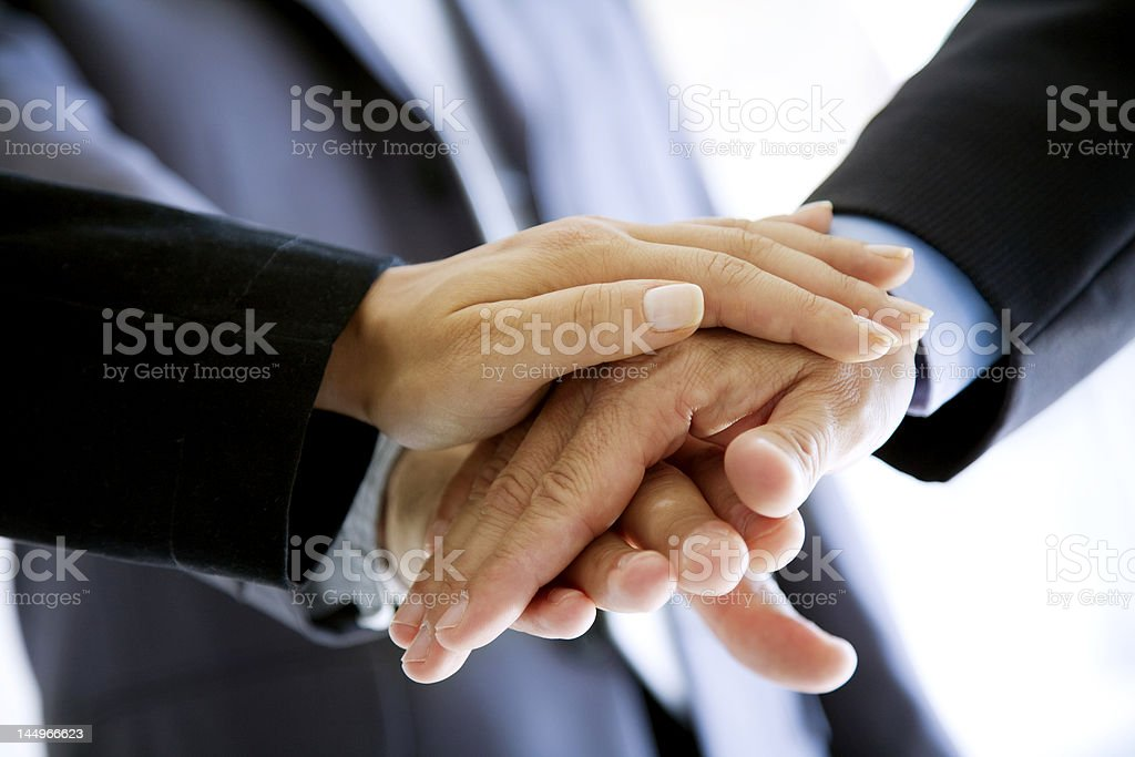 united in business royalty-free stock photo