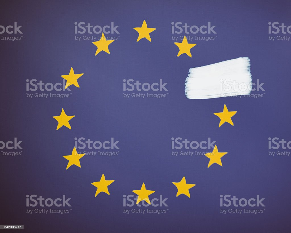 United Kingdom Brexit Concept Image royalty-free stock photo