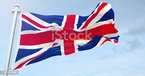 istock United Kingdom flag 1317078461