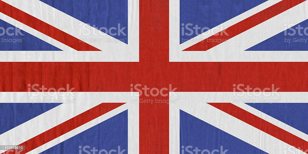 United Kingdom flag royalty-free stock photo