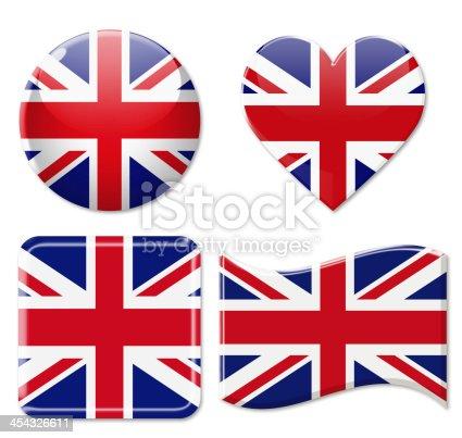 istock United Kingdom Flags & Icon Set 454326611
