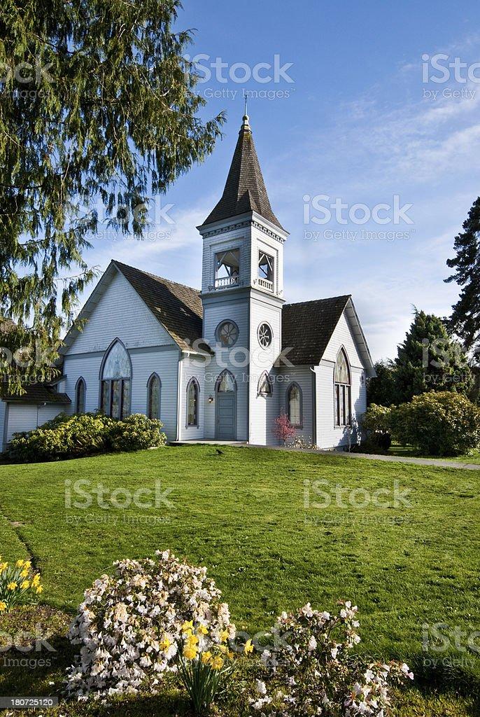 United Methodist Church (1884) royalty-free stock photo