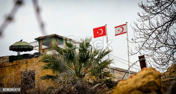 587773316 istock photo United Nations buffer zone (Green line) in Cyprus in Nicosia. 828095474