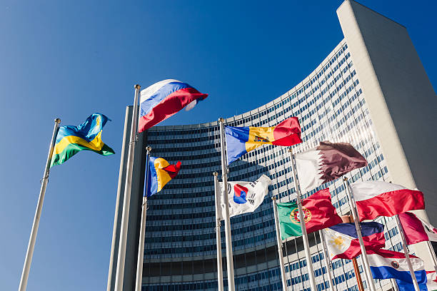 공통사항 네이션즈 미흡함 비엔나 - united nations 뉴스 사진 이미지