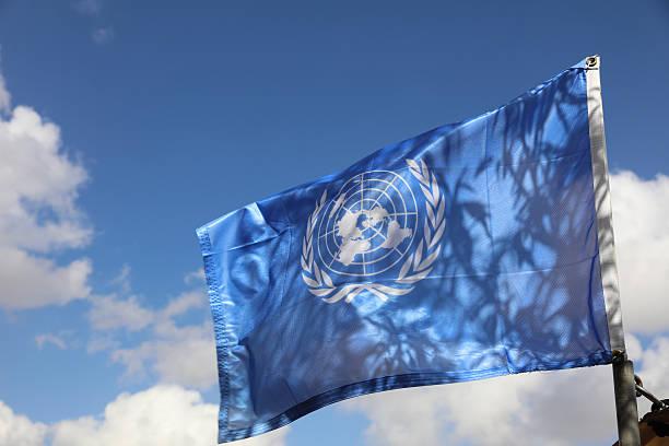유엔깃 - united nations 뉴스 사진 이미지