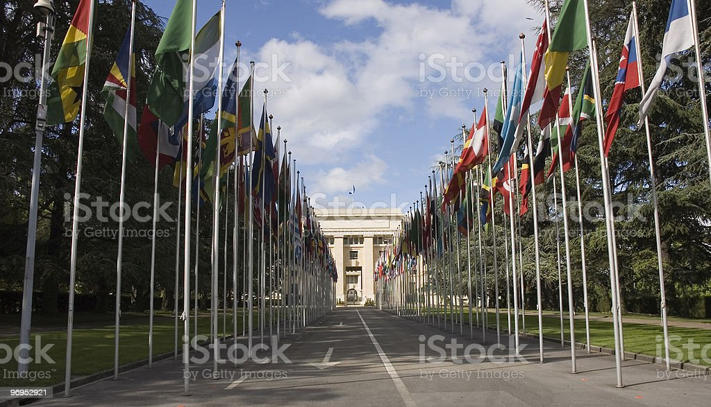 United Nations Geneva royalty-free stock photo