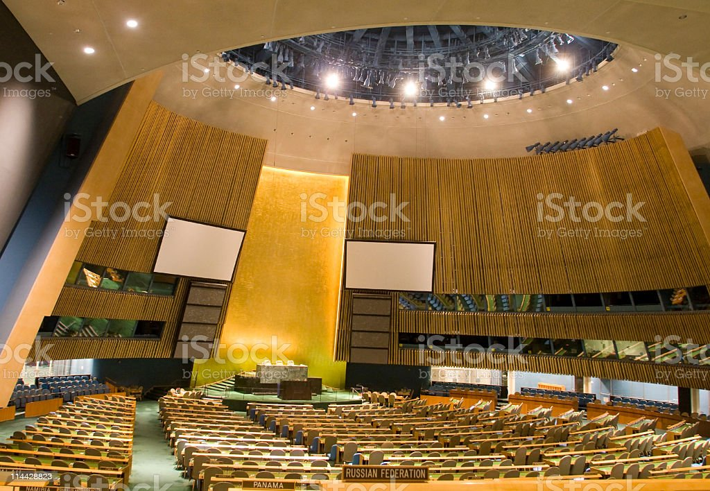 United nations stock photo