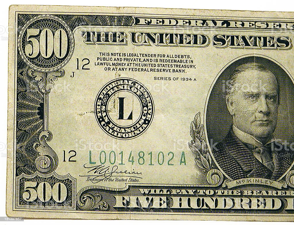 dollar stock photos united states 500 dollar bill stock photo 131397857 istock 3915
