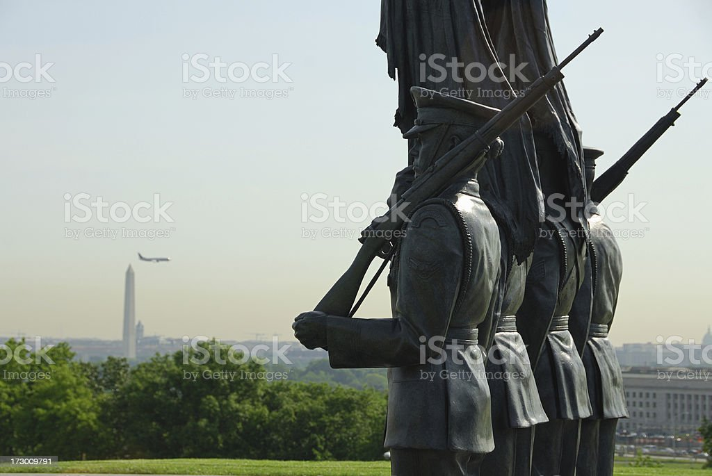 United States Air Force Memorial in D.C. royalty-free stock photo