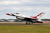 Raf Fairford: United States Air Force Thunderbirds at The Royal International Air Tattoo on 14th July 2017