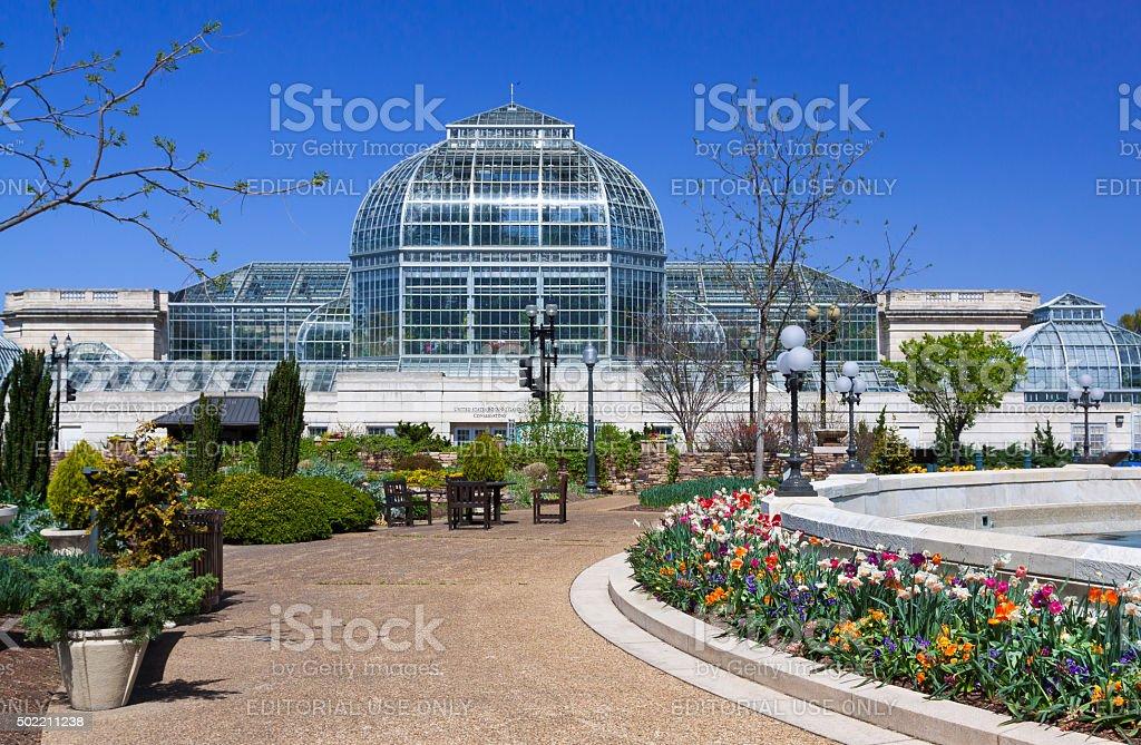 United States Botanic Garden (USBG), Washington DC, USA. stock photo