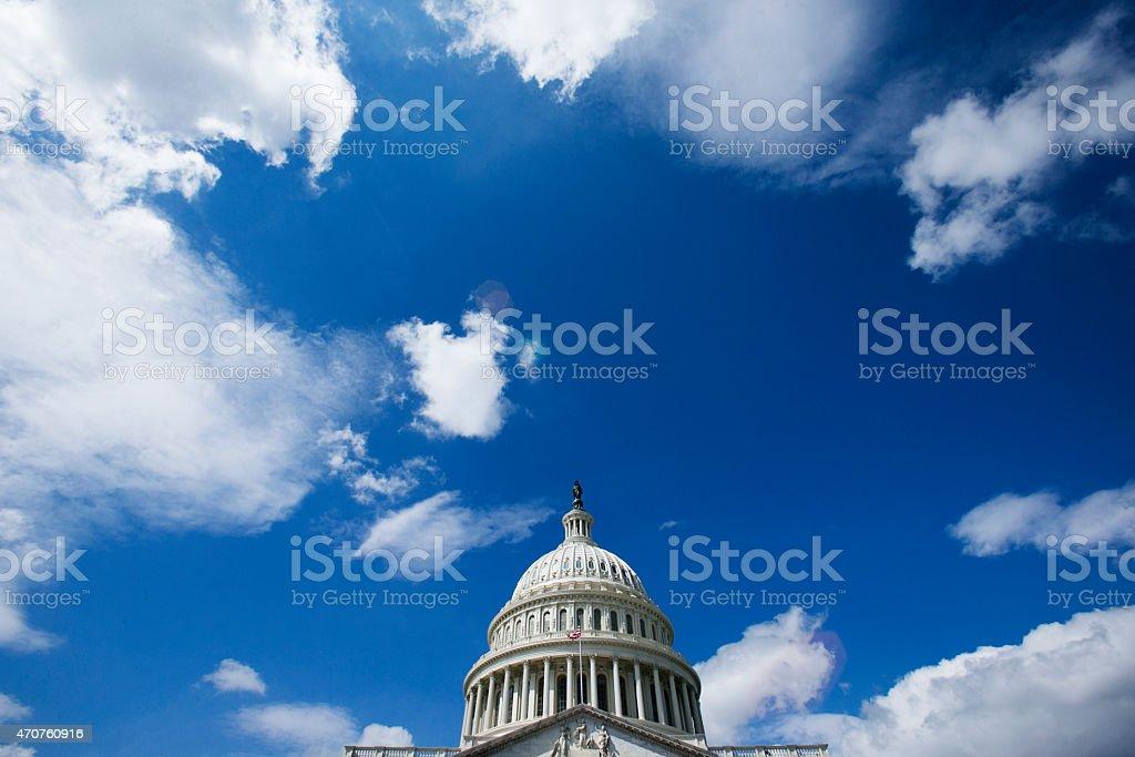 United States Capital Building stock photo
