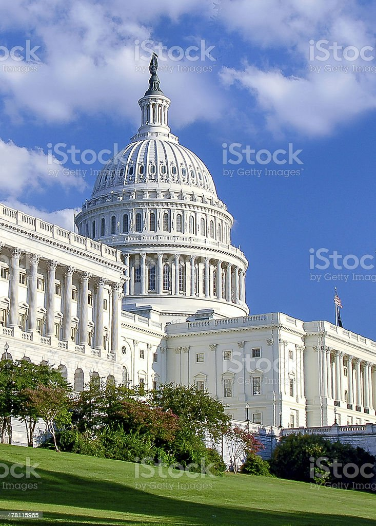 United States Capital Dome stock photo