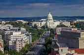 istock United States Capitol and Pennsylvania Avenue in Washington, DC 925908850
