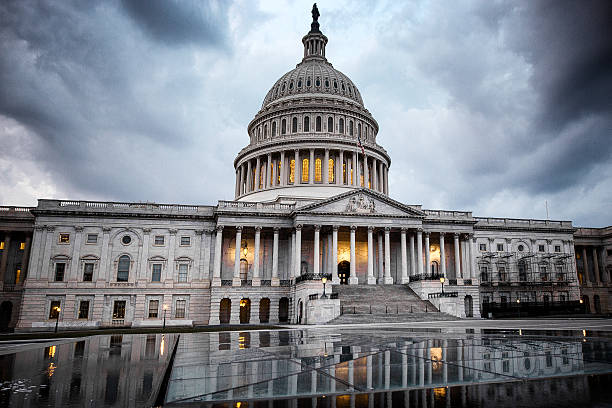 United States Capitol Building: Calm Before The Storm – Foto