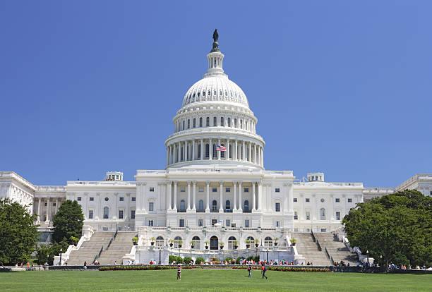 Edificio del Capitolio de los Estados Unidos - foto de stock