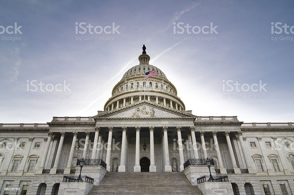 United States Capitol Building - Royalty-free Architectural Dome Stock Photo
