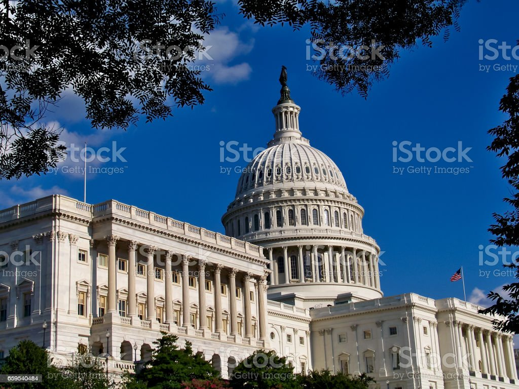 United States Capitol Building, Washington, D.C. stock photo