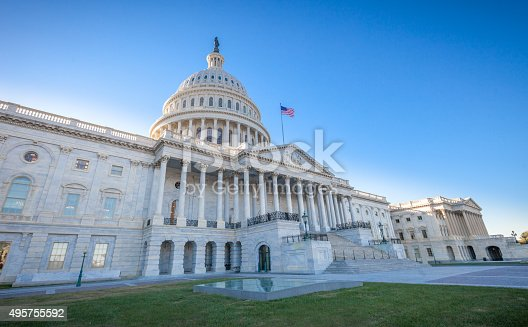 istock United States Capitol East Facade at angle 495755592