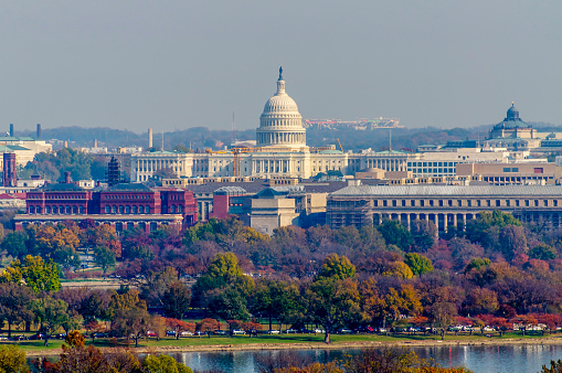 istock United States Capitol in Autumn 1130968544