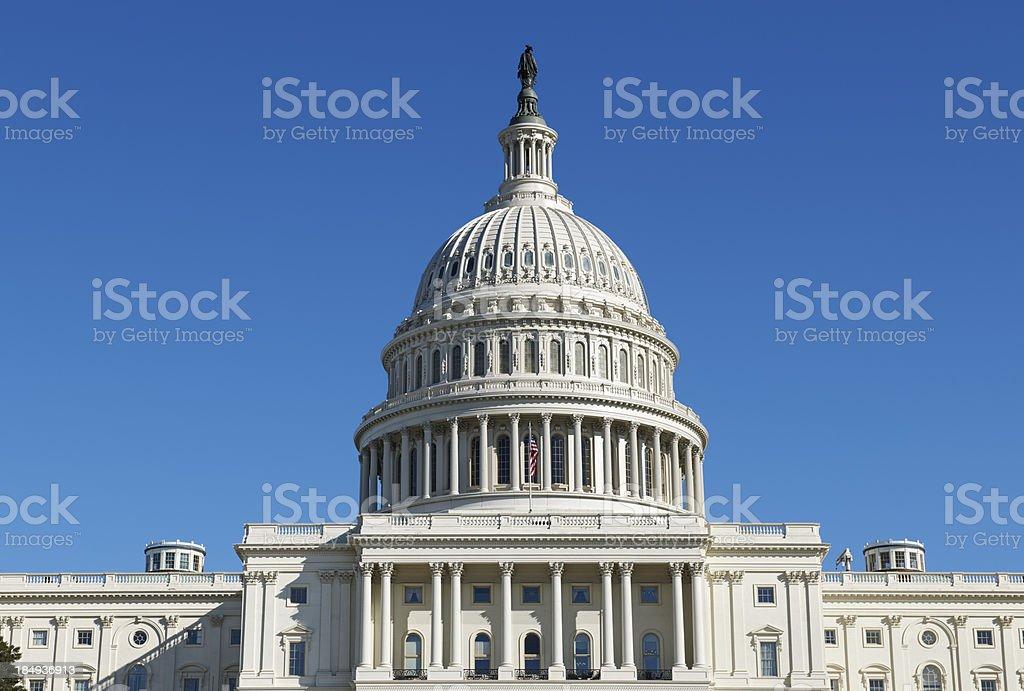 United States Capitol in Washington DC royalty-free stock photo