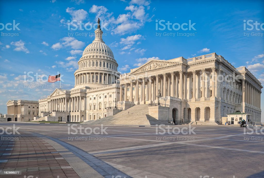 United States Capitol - Royalty-free Amerikaanse cultuur Stockfoto