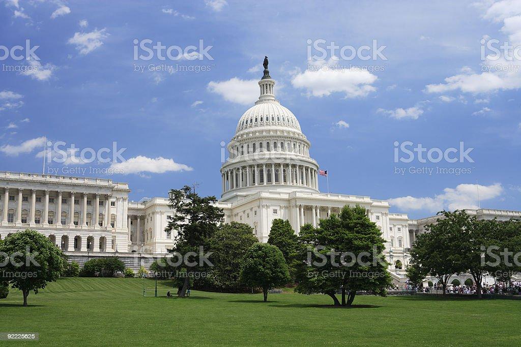 United States Capitol royalty-free stock photo